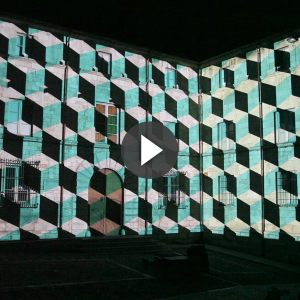 07/2015 Festival FIMG Girona - Mapping / Motion design : AC3 & Flab