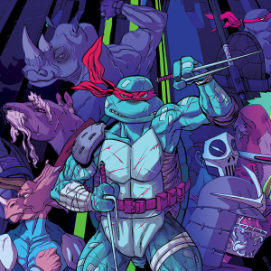 03/2018 Ninja Turtles cover - Dessin : Flab