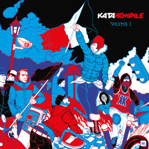 10/2014 Pochette CD KataKompile – Illustration/PAO : Flab