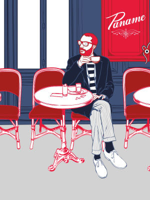 07/2014 Paname chamoisine - Illustration : Flab
